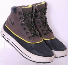 Nike 415077-003 Woodside GS ACG Gray Lace-Up Sneaker Boots shoes Youth US 6.5Y