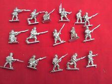 WARGAMES FOUNDRY 20mm DIE CAST BRITISH,FRENCH & GERMAN WW1 TROOPS X 16
