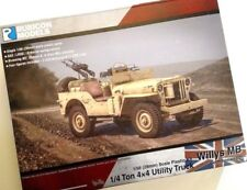 Rubicon Models: 280050 - Willys MB 1/4 ton 4x4 Jeep Commonwealth - Bolt Action