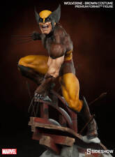 WOLVERINE PREMIUM FORMAT BROWN SUIT STATUE SIDESHOW - Limited Edition: 1523/2500