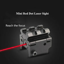 Mini Red Dot Laser Sight Navigation 20mm rail Mount for Rifle Pistol gun Hunting