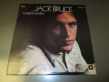 1969 Jack Bruce Songs For A Tailor LP w/ Insert EX/VG+ Atco Records SD 33-306