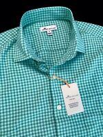Peter Millar Crown Sport Summer Comfort Long Sleeve Shirt Medium $145