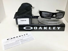 NEW Oakley Sunglasses GASCAN POLISHED BLACK / GREY 03-471