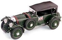 BRUMM R100 BENTLEY SPEED SIX diecast model racing car green body 1928 1:43rd