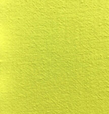 """Vintage Flour Sack Solid Color Lovely Lemon Yellow approx 38"""" x 35"""""""