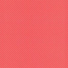 rojo/Lunares Blancos Papel Pintado - Rasch 442311