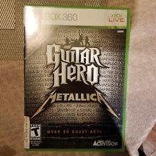 Guitar Hero Metallica - Xbox 360 BRAND NEW