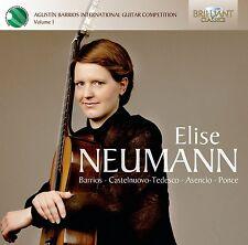 ELISE NEUMANN - ELISE NEUMANN  CD NEU BARRIOS/CASTELNUOVO-TEDESCO/ASENCIO/PONCE
