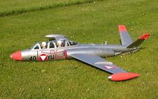 Offshore CM-170 Fouga Magister 153 cm Modellbauplan mit Anleitung Impeller Jet