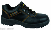 Delta Plus Panoply Navara S1P SRC HRO Black Mens Steel Toe Safety Work Shoes PPE