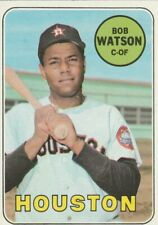 1969 TOPPS BASEBALL CARD # 562 BOB WATSON HOUSTON C- OF