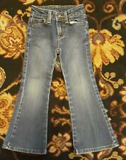 Faded Glory Stretch Flare Leg Jeans - Girl's Size 4 Slim