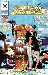 ARCHER & ARMSTRONG   #16   (VALIANT 1992 SERIES)   VF-NM