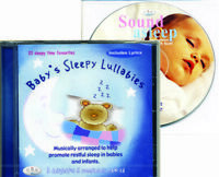 Baby's Sleepy Lullabies CD baby nursery lullaby sleep songs *plus FREE BONUS CD*
