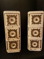 Vintage Antique Singer Treadle Sewing Machine~Set 6~Ornate Drawers in Frames