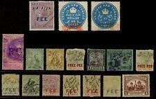 Trinidad & Tobago Revenue Stamps - Fiscals, QV - KGVI, See Scans