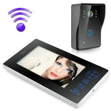 2.4GHz Wireless Video Door Phone Intercom Doorbell Camera Home Security Monitor