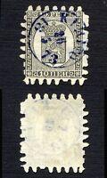 Finland 1866 SC 8a used Kimito roulette II . b3495