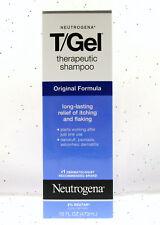 Neutrogena T/Gel Therapeutic Shampoo Dandruff Psoriasis Seborrheic Dermatitis