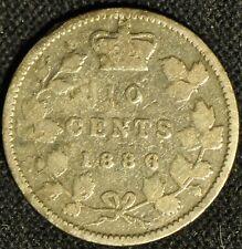 Canada 1886 10 Cent Piece - Buyers Grade -