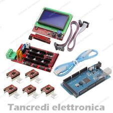 Kit RAMPS 1.4 + 5x Driver A4988 + Arduino Mega 2560 + cavo USB + LCD 128x64 3D