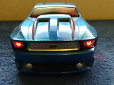 DUB Blue Mustang with Amazing Lights & Music Super Cool Car