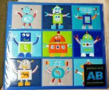"New listing Amanda Blu Fine Album Scrapbook Album 12"" x 12"" Robots Rare Htf Nwt"