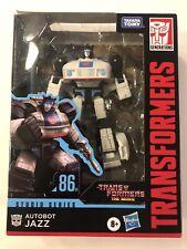 Toys Studio Series 86-01 Deluxe Class The The Movie 1986 Autobot Jazz Action Fi