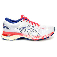 ASICS Women's GEL-KAYANO 25 White/White Running Shoes 1012A026.100 NEW