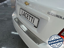 Chevrolet LACETTI 4D 2004- Rear Bumper Profiled Protector Stainless Steel Cover