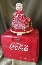 Vintage Coke Cooler Radio Music Box Rare