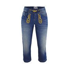 Damen-Jeans mit Stickerei-Normalgröße Hosengröße 42