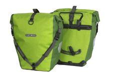 Ortlieb Back-Roller Plus Pannier: Lemon/Moss Green