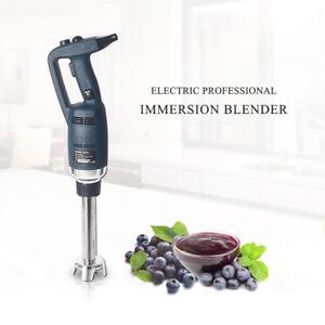 4000~16000RPM Commercial Immersion Blender Mixer Egg Beater Whisk SS Stick 500W