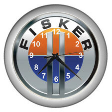 2020 Fisker Karma Sedan Car Logo Emblem Wall Clock