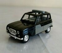 Solido 1964 Renault 4L 1964 Black 1:43 Made in France