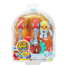 Go Jetters Click On Figure - Foz & G.O. Mag  *BRAND NEW*