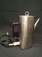 More details for vintage 1970s russell hobbs cpss coffee percolator, stainless steel, reg 921369