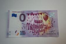 """Null 0 Euro Schein """"Happy Birthday"""" 2020-1 Geburtstag Souvenirschein NEU"""