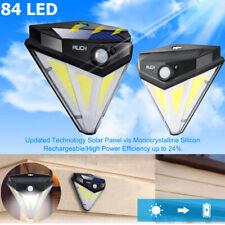 84 LED Solar Light Power Motion Sensor Garden Security Lamp Outdoor Waterproof