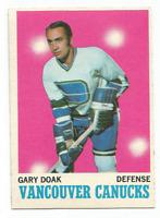 1970-71 O-Pee-Chee #114 Gary Doak Vancouver Canucks