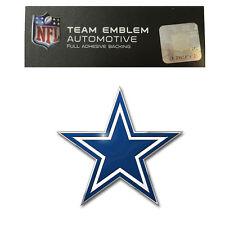 Promark New NFL Dallas Cowboys Color Aluminum 3-D Auto Emblem Sticker Decal