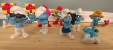 Smurfs Lot of 11 Figures used