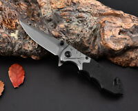 Tactical Survival Folding Blade Knife Pocket Camping Hunting Outdoor Knives Tool