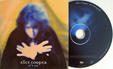 ALICE COOPER CD It's Me USA 1 Track PROMO with Full Artowrk UNPLAYED