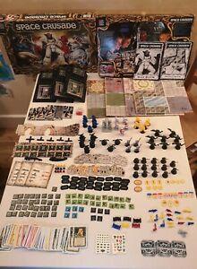 Space Crusade Ultimate Encounter COMPLETE Games Workshop Board Game MB 1990 VGC