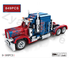 Truck Building Blocks Pull-back Cars Toy Bricks Opti-mus Pri-me Prototype 849PCS