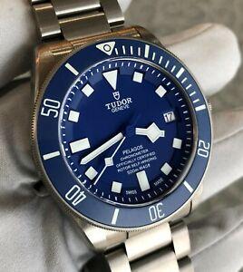 Tudor Pelagos Blue 25600TB Titanium - COMPLETE SET! 25600