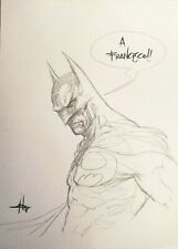 Dell'Otto - Batman Sketch - ORIGINAL ART  ORIGINALZEICHNUNG